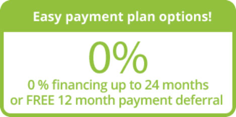 Easy Payment Plan Options